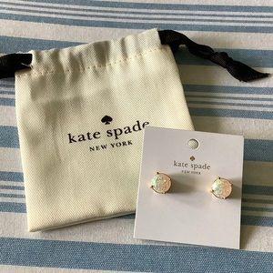 KATE SPADE NEW YORK EARRING OPAL GLITTER